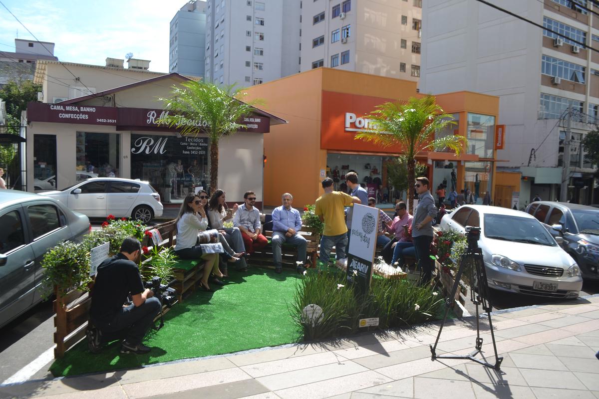 Parking Day Transforma Cenário Urbano De Bento Gonçalves