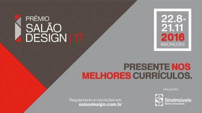 Prêmio Salão Design Está Com Inscrições Abertas